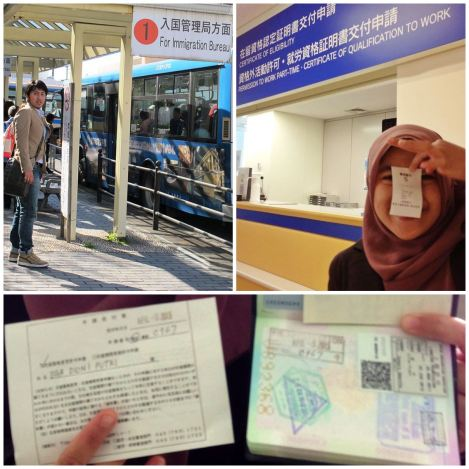 April Missions: Visa Extension and Driving License