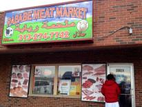 Rababe Meat Market: This store has a high rating on Google and located in a strategic location in the side of main rode, but the price isn't affordable for us, at least if compared to halal butchers in Ann Arbor.