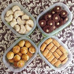 Kukis Lebaran (Indonesian Eid Cookies)