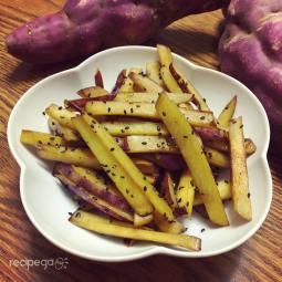 Sweet Potato Kimpira