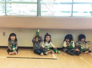 本蒲田児童館の子どもたち2017