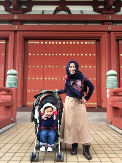 Naritasan Trip Mama and Musa