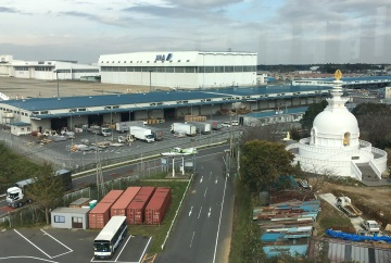 View from 5F Museum of Aeronautical Science