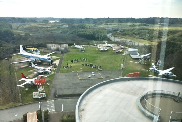 View of Museum of Aeronautical Science Yard