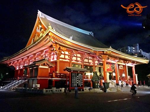 Asakusa Kannon Temple - Sensoji Temple
