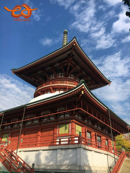 Pagoda at Naritasan Shinshoji Temple