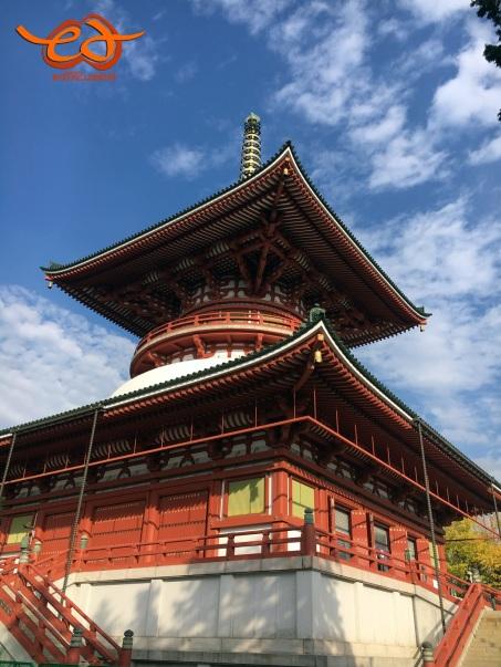 Pagoda at Naritasan Shinshoji Temple