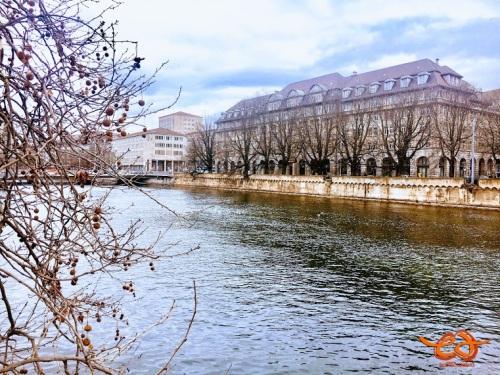 Zurich-Limmat river