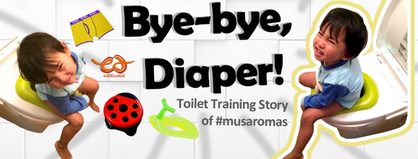 potty (toilet) training story copy