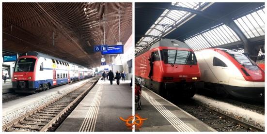 Swiss-Bahn-Train