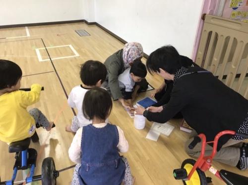 children hall in Japan