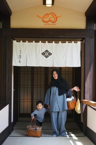 Ryokan (hotel) look - inside