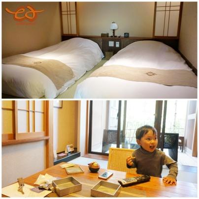 Ryokan (hotel) look - room