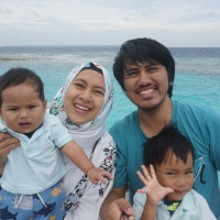 When in Derawan Paradise