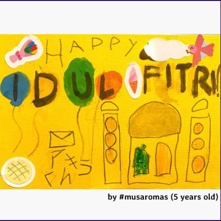 Eid Card 2020 - Drawing by Musa