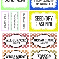 New Year Cleaning: My Pantry Labels